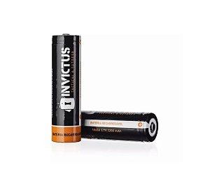 Bateria recarregável 18650 2200mAh (2 Unidades) - Invictus