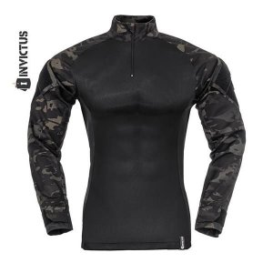COMBAT SHIRT RAPTOR INVICTUS - MULTICAM BLACK