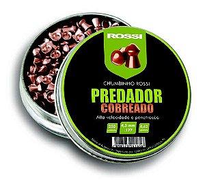 CHUMBINHO ROSSI PREDADOR COBREADO 4,5MM (250 UN)