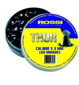 CHUMBINHO ROSSI THOR 5,5MM (LATA C/100 UN)