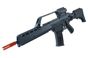 RIFLE UMAREX - G36 LONG COM BLOWBACK ( RED DOT + LUNETA )