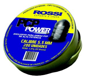 CHUMBINHO ROSSI PCP POWER 5,5MM (200UN)