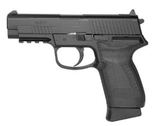 PISTOLA DE PRESSÃO CO2 HPP BLOWBACK FULL METAL - 4,5MM