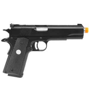 PISTOLA AIRSOFT GBB 1911 R29 BLACK FULL METAL - BLOWBACK  - GREEN GÁS - ARMY ARMAMENT