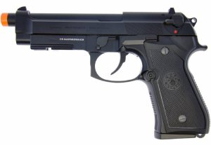 Pistola Airsoft  GBB M92 Full Metal Blowback + Case Exclusivo - G&G