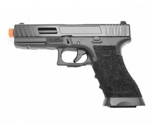 PISTOLA AIRSOFT GBB GLOCK 744 BLOWBACK - DOUBLE BELL + CASE + MAGAZINE EXTRA