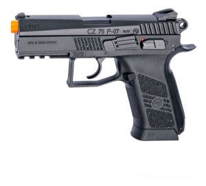 PISTOLA AIRSOFT GBB CO2 CZ 75 P-07 DUTY BLOWBACK - ASG
