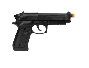 PISTOLA AIRSOFT GBB M92 736 FULL METAL - BLOWBACK + CASE + MAGAZINE EXTRA - DOUBLE BELL
