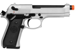 PISTOLA AIRSOFT GBB M92 726Y BLOWBACK FULL METAL + CASE EXCLUSIVA + MAGAZINE EXTRA - DOUBLE BELL
