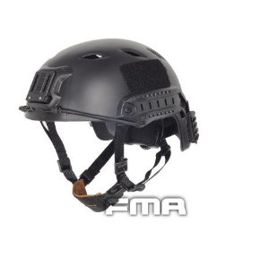 CAPACETE FMA BASE JUMP MILITARY VERSION - PRETO