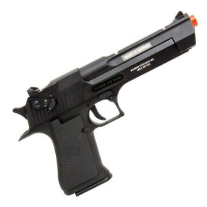 PISTOLA AIRSOFT GBB CO2 DESERT EAGLE BLOWBACK FULL/AUTO - CYBER GUN