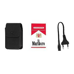 Aparelho de Choque Elétrico - Caixa Cigarro Marlboro
