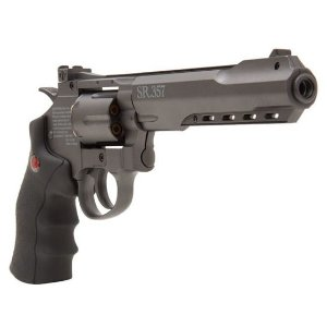REVÓLVER DE PRESSÃO CO2 SR357 BLACK CROSMAN - 4,5MM