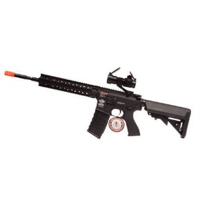 RIFLE AIRSOFT G&G - M4 CM16 R8-L COM MIRA OPTRONICA - 6MM