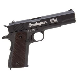 PISTOLA DE PRESSÃO CO2 1911 REMINGTON BLOW BACK FULL METAL - 4,5MM