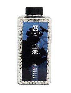 BBs EVO 0.30g - Pote com 2700 bolinhas Brancas