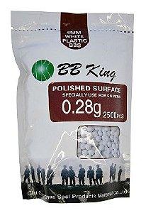 BBs BBKing 0,28g – Pacote com 2500 bolinhas