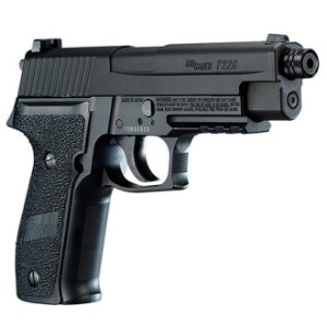 PISTOLA DE PRESSÃO CO2 SIG SAUER P226 BLOWBACK FULL METAL - 4,5MM