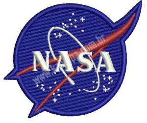 PATCH BORDADO NASA - KALUAPA