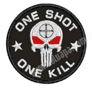 PATCH BORDADO ONE SHOT - KALUAPA