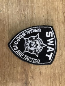 PATCH BORDADO SWAT - KALUAPA