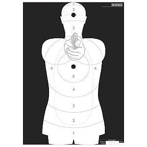 ALVO SILHUETA SAT/ANP OFICIAL - SHOTGUN