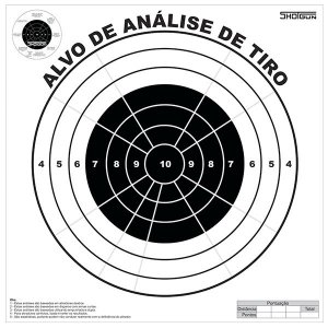 ALVO ANALISE DE TIRO - SHOTGUN