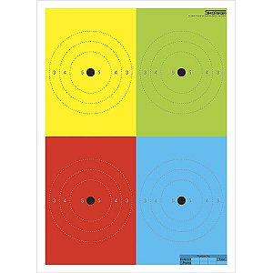 ALVO PERCEPCAO 4 CORES SAT/ANP OFICIAL (LAUDOS) - SHOTGUN
