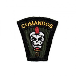 PATCH BORDADO COMANDOS - PONTO MILITAR