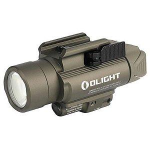 Lanterna para pistolas baldr rl com laser tan 1120 lúmens - Olight