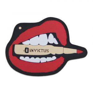 PATCH EMBORRACHADO LIPS - INVICTUS
