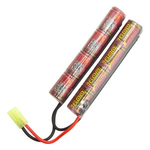 BATERIA P/AIRSOFT MOD.BUTTERFLY 9,6V / 1600MAH