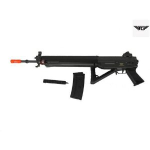 Rifle Airsoft  JG Works - SIG-080 com  Bipé