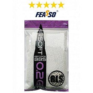 BBs BLS FEASSO 0,20g – Pacote  com 5000 bolinhas (1KG)