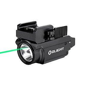Lanterna para pistola baldr mini c/ laser 600 lúmens - Olight