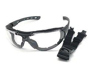 Óculos de Segurança Roma incolor - Steelflex