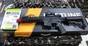 PROMOÇÃO - Rifle Airsoft Rossi - AR15 8P SD Neptune + Red Dot + BBs
