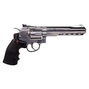 Revólver de Pressão CO2 SR357  Silver - 4,5mm