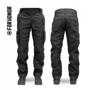 Calça Combat Masc. 911-1 Forhonor - Black