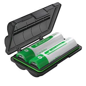 Kit c/ 2 Baterias de Lítio 18650 3400mah - Ledlenser