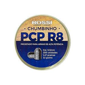Chumbinho Rossi PCP R8 5,5mm (200UN)