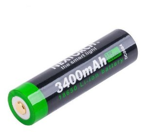 Bateria li-ion 18650 3400mAh - Nextorch