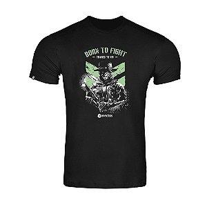 T-Shirt Concept Born To Fight  - Invictus