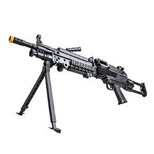 Rifle Airsoft Rossi - Suporte LMG M249 Light