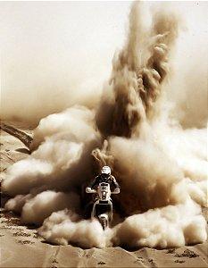 Quadro Decorativo Poster Moto em Aventura