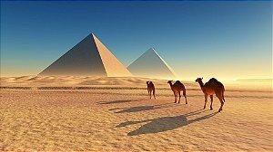 Quadro Decorativo Poster Paisagem Egito