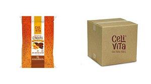 CAIXA COM BOLINHOS DE CENOURA COBERTO COM CHOCOLATE 40g