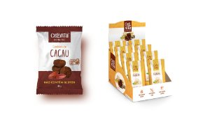 DISPLAY COM 14 BISCOITOS CACAU 30G