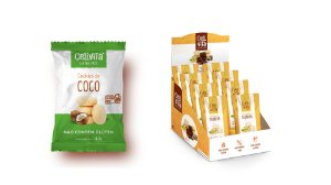 DISPLAY COM 14 BISCOITOS COCO 30G