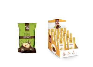 DISPLAY COM 10 BISCOITOS COCO COM CHOCOBASE 40G